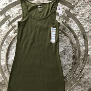 Old Navy Olive Green Tank, Size Small